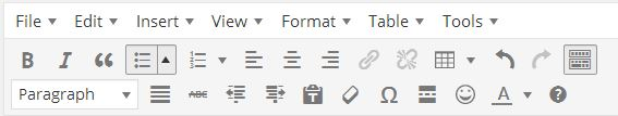 toolbar revised