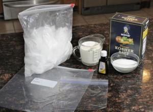 Icecreaminabagkoshersalt