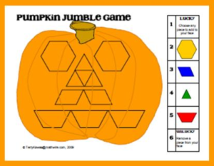 Pumpkin Jumble Game