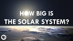 how big is the solar system