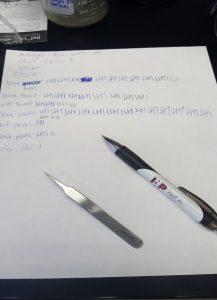 300 microns water sample data